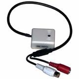 Microfono Camaras Seguridad Oculto Cctv Espia Dvr Nvr 12v