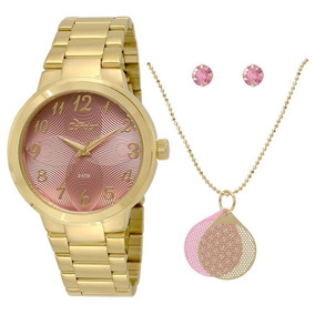 Relógio Condor Feminino Co2036kov/k4t + Kit - Nota Fiscal