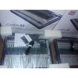 Consola Soundcraft Signature 22 Usb Nueva