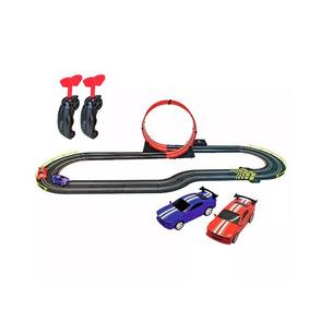 Pista Speedy Loop Con Rulo Y 2 Autos Artin Scalextric 4.3 Me