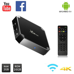 Convertidor Smart Tv Box X96 Mini 2g/16g Android 7 Inc Iva