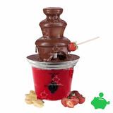 Fuente De Chocolate Caliente Xion Acero Uso Hogar Cumpleaños
