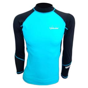 Camiseta Remera Surf Rashguard Waboba Uv 50 Lycra Niño