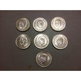 Monedas 5 Pesos Hidalgo De Plata Ley .720 1952 Y 1953
