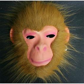 Máscara Macaco Chimpanzé Gorila Carnaval Fantasia