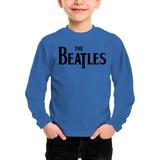 Remera Niño Manga Larga The Beatles Inkpronta