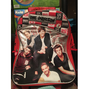 Mochila One Direction De Ruedas 45 X 30 X 20 Cms E4f