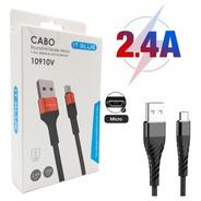 Cabo Carregador Turbo Micro Usb Samsung J1, J2, J3, J4, J5