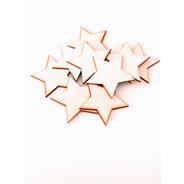 Kit Estrellas X 10u - 5cm Diam - Mdf / Fibrofacil