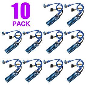 Riser 10-pack | Tarjetas Elevadoras De Gpu _ Eth / Btc / Ltc