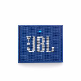 Caixa Som Portatil Jbl Go Azul Bluetooth Microfone Usb