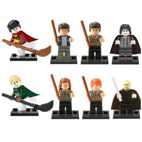 Kit 8 Minifigure Harry Potter Lego Similar Quadribol