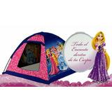 Casita Carpa Infantil De Juegos Princesas Disney Original