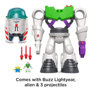 Fisher Price Imaginext Toy Story 4 Buzz  Lightyear Robot