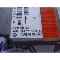 Módulo Central De Air Bag Mercedes Classe A 160 0285001222