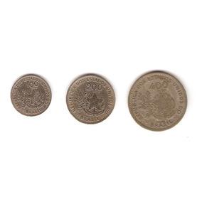 Moedas Antigas - 100/200/400 Réis 1901