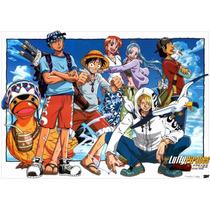 Poster Grande One Piece Hd 60x84cm Anime Mangá Decora Parede