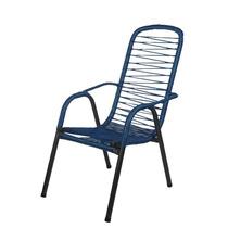 Cadeiras De Fio Para Varanda Luxo - Azul