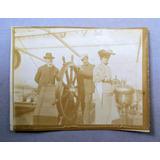 Antigua Fotografia Inmigrantes Llegada A Buenos Aires 1908