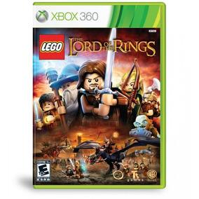 Jogo Lego O Senhor Dos Anéis - Xbox 360   Lacrado   Original