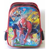 Mochila Homem Aranha 3d Escolar