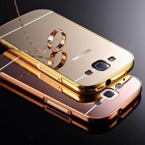 Funda Bumper-aluminio Espejo Galaxy S3 + Mica Cristal + Dhl