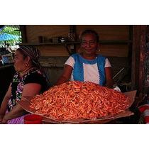 Camaron Seco (tamaño Chico), Del Istmo De Tehuantepec Oax.