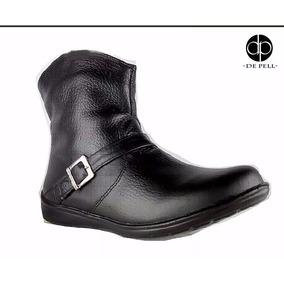Zapato De Mujer Piel Botin Piel Calidad + Cartera Regalo.