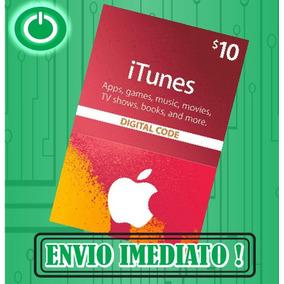 Itunes Gift Card $10 - Turbine Seu Ipod Iphone E Ipad! Usa