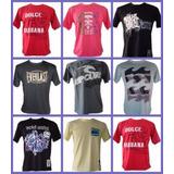 Kit 10 Camisetas Camisas Masculinas Varias Marcas Atacado
