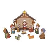 Nacimiento Navideño 12 Figuras Tipo Infantil Envío Gratis