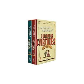 Box O Livro Das Virtudes - William Bennett - Capa Dura