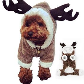 Petslove Reno De La Navidad Del Traje De Ropa Para Perros M