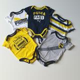 Body Infantil Puma 5 Unidades