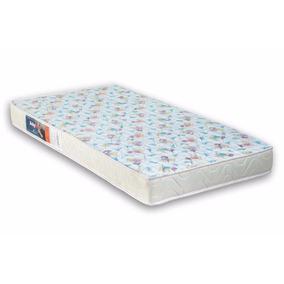 Colchão De Berço D18 130x60x12 + Travesseiro Anti Refluxo