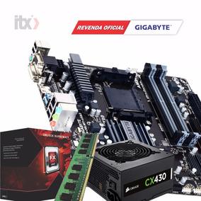 Kit Amd Fx-8300 + Ga-78lmt-usb3 + 8gb + Fonte 430w