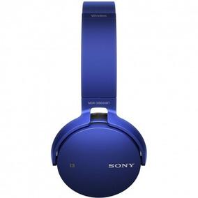 Fone De Ouvido Sony Mdr-xb650bt Wireless Azul