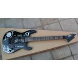 Guitarra E S P Kirk Hammett Ouija Negra (metallica)