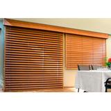 cortina persiana veneciana americana de madera - Persianas De Madera