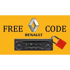 Code Código Radio, Cd Renault Clio Megane Scenic Grand Tour