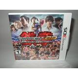 Tekken 3d Prime Edition Nintendo 3ds Nuevo Sellado