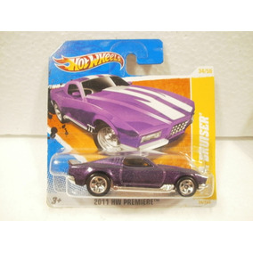 Hot Wheels Blvd Bruiser Morado 34/244 2011 Tc
