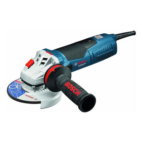Amoladora angular Bosch Professional GWS 17-125 CIE Heavy Duty azul 220V