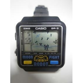 Lindo E Raro Relógio Casio Game Gr-3 -maquina Do Tempo