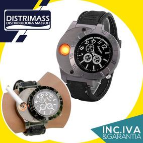 Reloj Encendedor Recargable Inc Iva Y Garantia