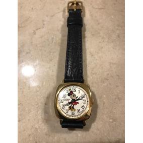 Reloj Minnie Mouse Tipo Vintage Pulsar Chapa 18k Prototyp