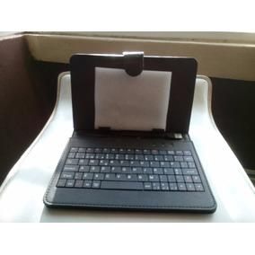 Funda Con Teclado Para Tablet 7 Pulgadas Entrada Usb