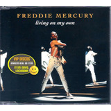 Freddie Mercury Living On My Own Cd Single 4 Faixas Lacrado