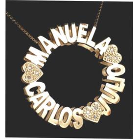 Pingente Mandala Ouro18k.750 Personalizada