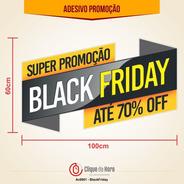 Adesivo Vitrine De Loja - Promoção Off Sale - Blackfriday
